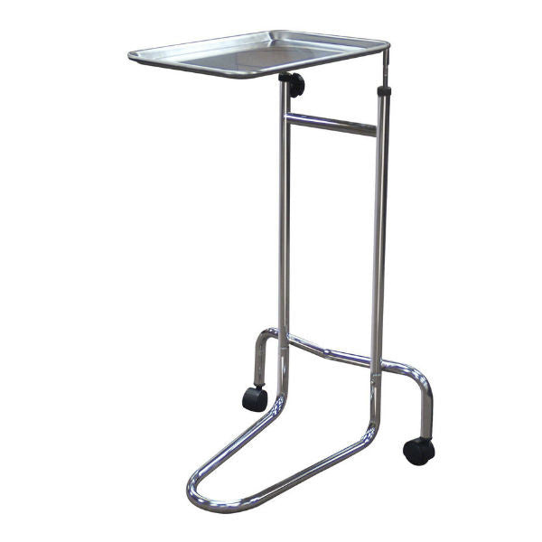 Mayo Instrument Stand, Double Post - EZMEDx Medical Supply