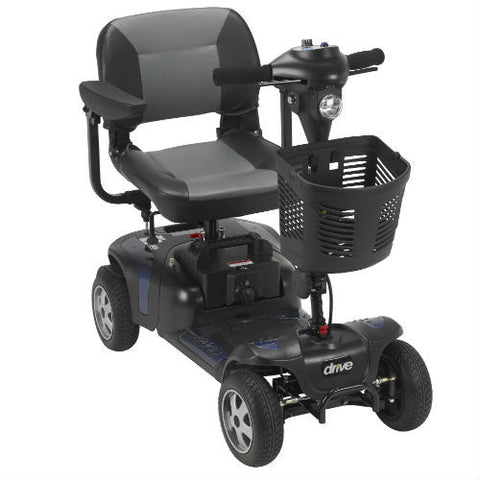 Phoenix Heavy Duty Power Scooter, 4 Wheel (PHOENIXHD4) - EZMEDx Medical Supply