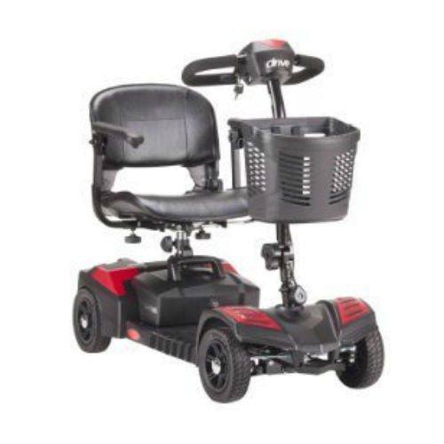 Spitfire Scout Compact Travel Power Scooter, 4 Wheel (SFSCOUT4) - EZMEDx Medical Supply  - 1