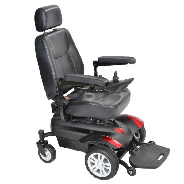 Titan Transportable Front Wheel Power Wheelchair - EZMEDx Medical Supply  - 1