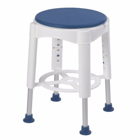 Bathroom Safety Swivel Seat Shower Stool - EZMEDx Medical Supply