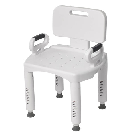 Premium Series Shower Chair with Back and Arms - EZMEDx Medical Supply