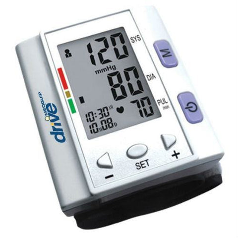 Automatic Blood Pressure Monitor with Cuff, Wrist Model - EZMEDx Medical Supply  - 1