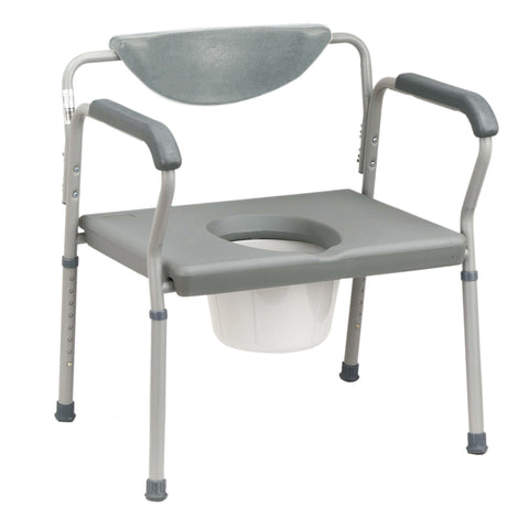Bariatric Assembled Commode - EZMEDx Medical Supply