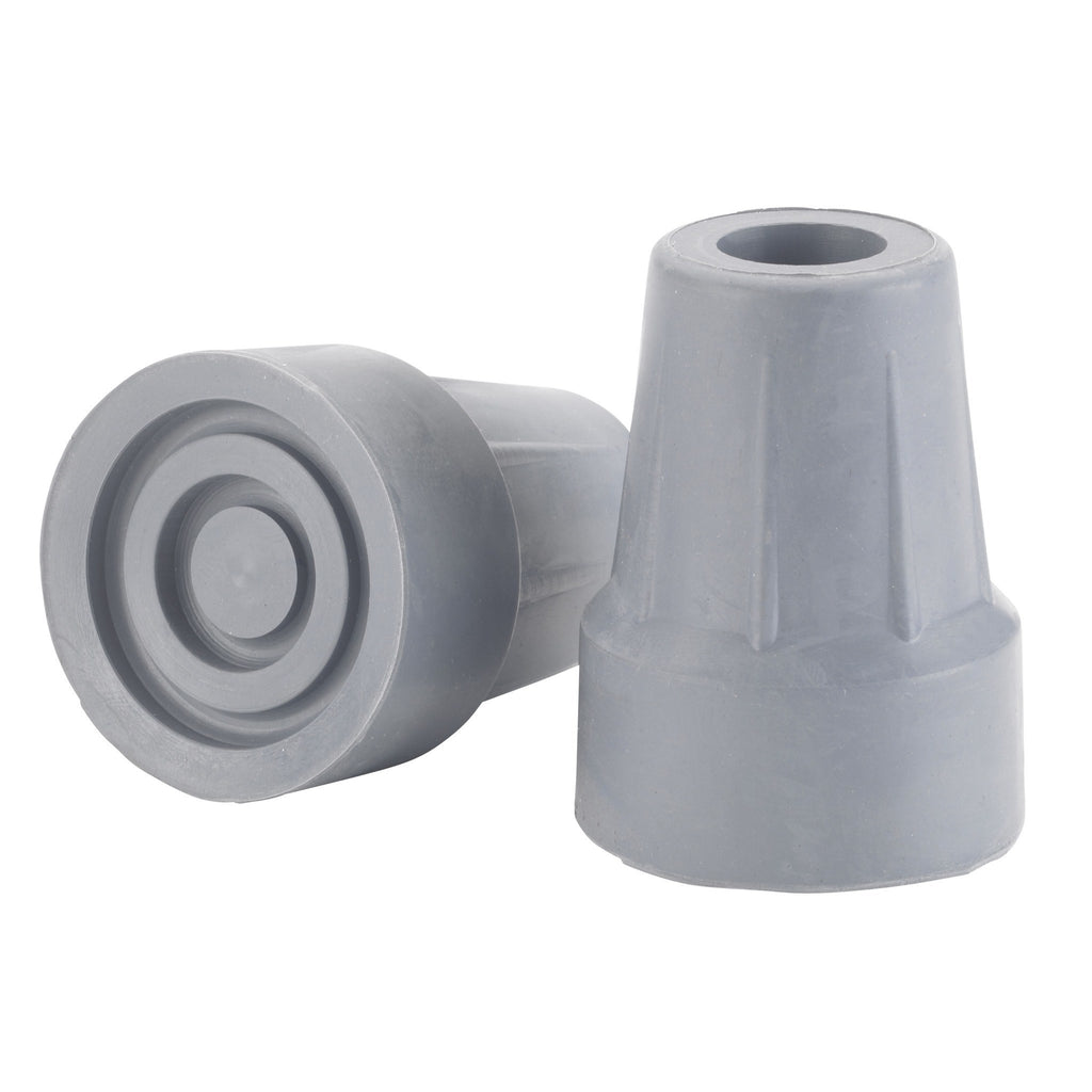 "Forearm Crutch Tip 5/8"", Gray - EZMEDx Medical Supply"