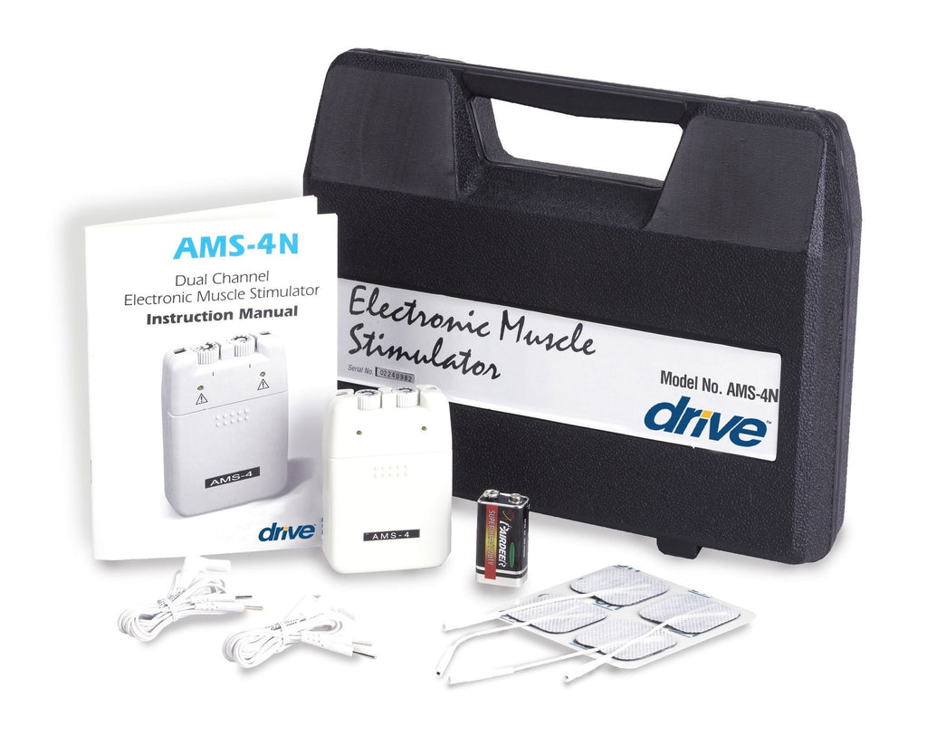 Portable EMS with Timer and Carrying Case - EZMEDx Medical Supply