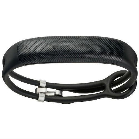 UP2 by Jawbone Activity + Sleep Tracker, Black Diamond, Lightweight Thin Straps - EZMEDx Medical Supply  - 1