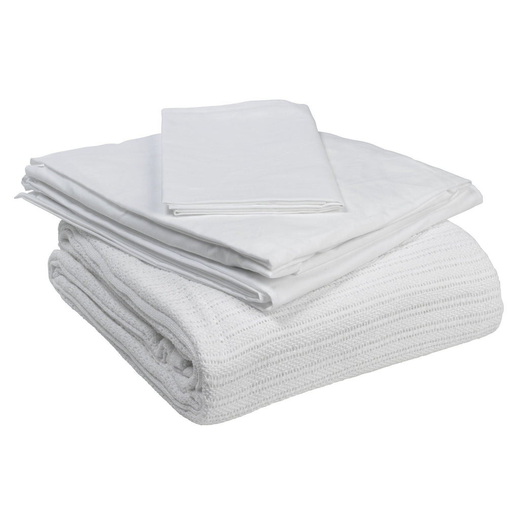 Hospital Bed Bedding in a Box - EZMEDx Medical Supply