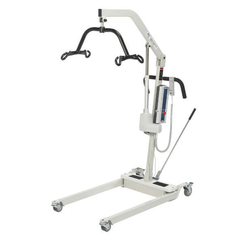 Bariatric Battery Powered Electric Patient Lift with Four Point Cradle and Rechargeable Battery - EZMEDx Medical Supply