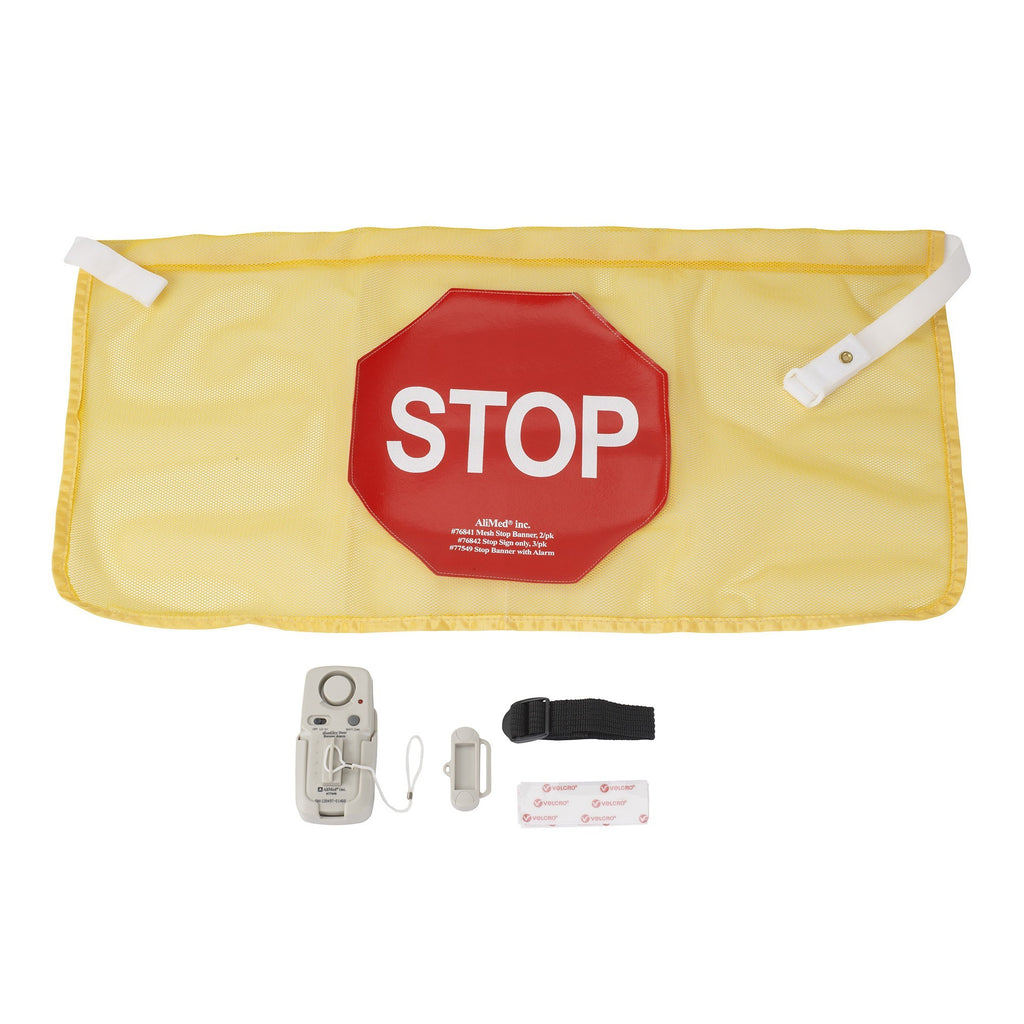 High Visibility Door Alarm Banner with Magnetically Activated Alarm System - EZMEDx Medical Supply