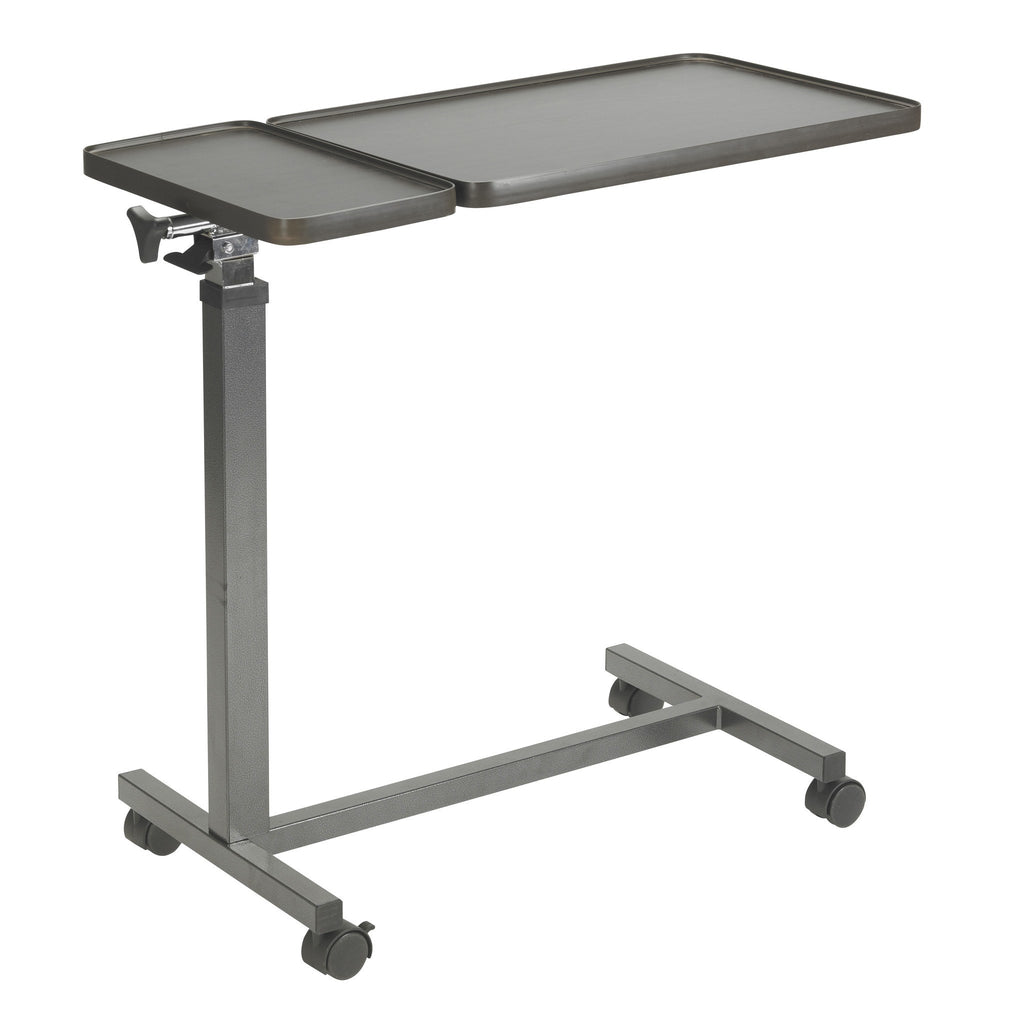 Multi-Purpose Tilt-Top Split Overbed Table - EZMEDx Medical Supply