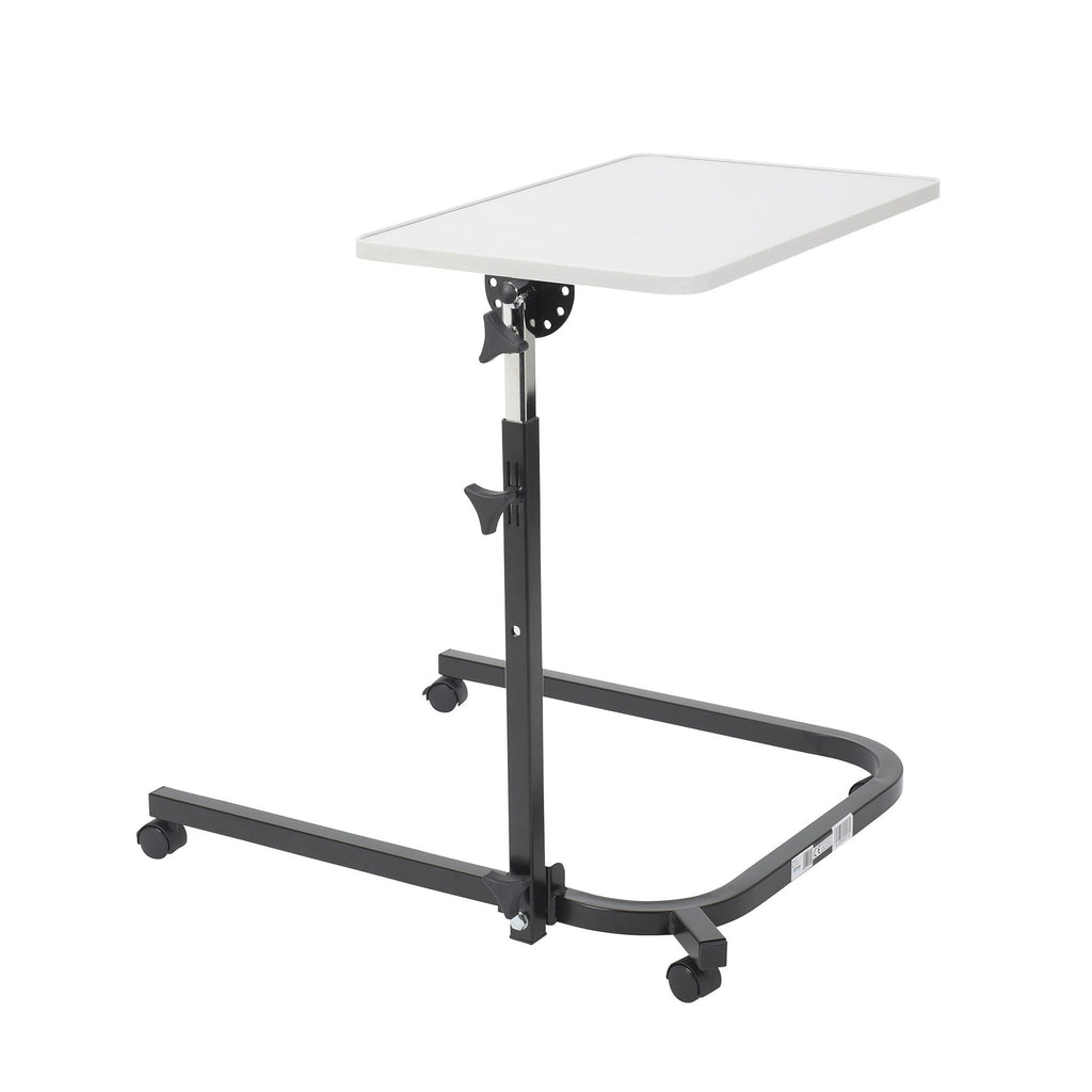 Pivot and Tilt Adjustable Overbed Table - EZMEDx Medical Supply