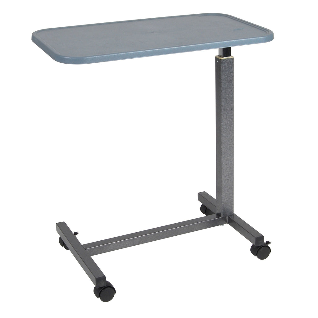Plastic Top Overbed Table - EZMEDx Medical Supply