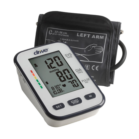 Deluxe Automatic Blood Pressure Monitor - EZMEDx Medical Supply