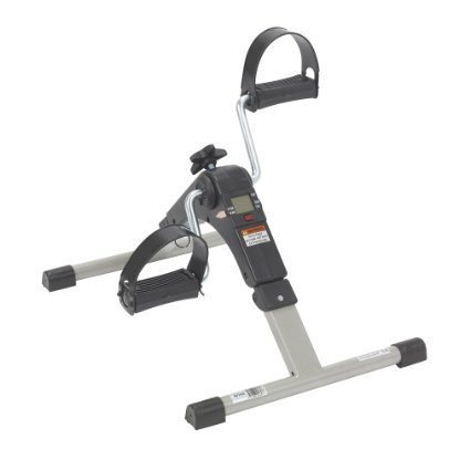 Deluxe Folding Exercise Peddler with Electronic Display - EZMEDx Medical Supply  - 1