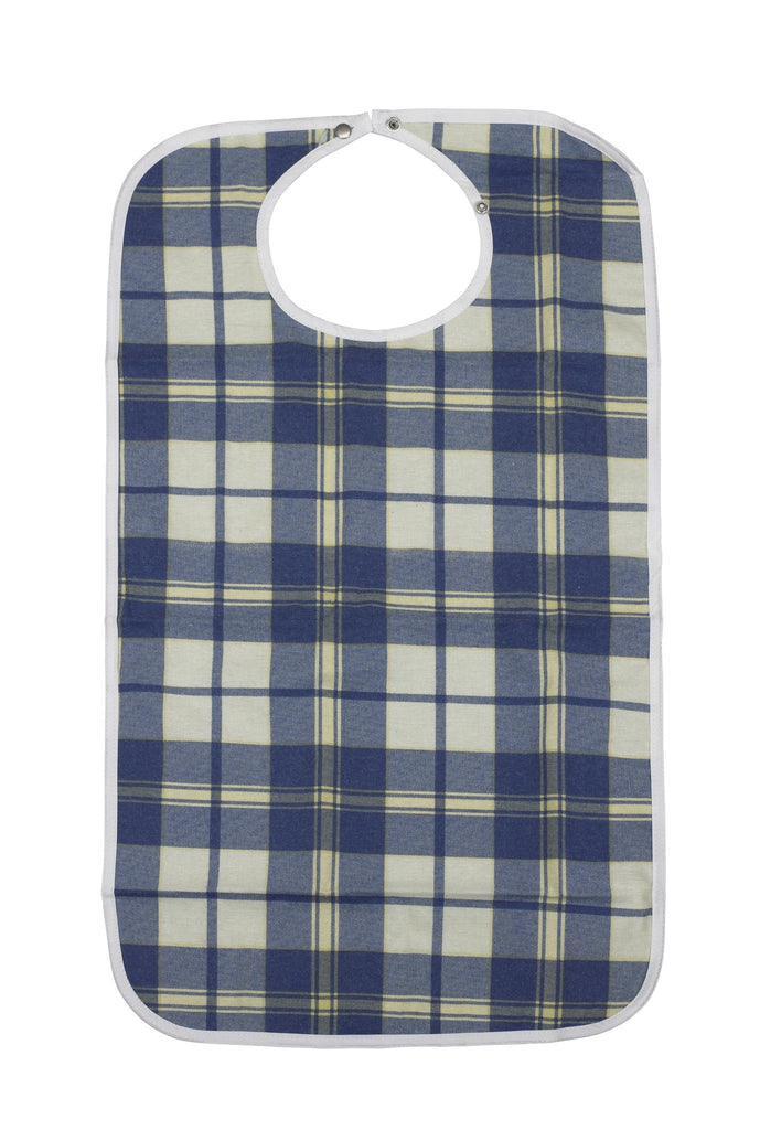Lifestyle Flannel Bib - EZMEDx Medical Supply  - 1