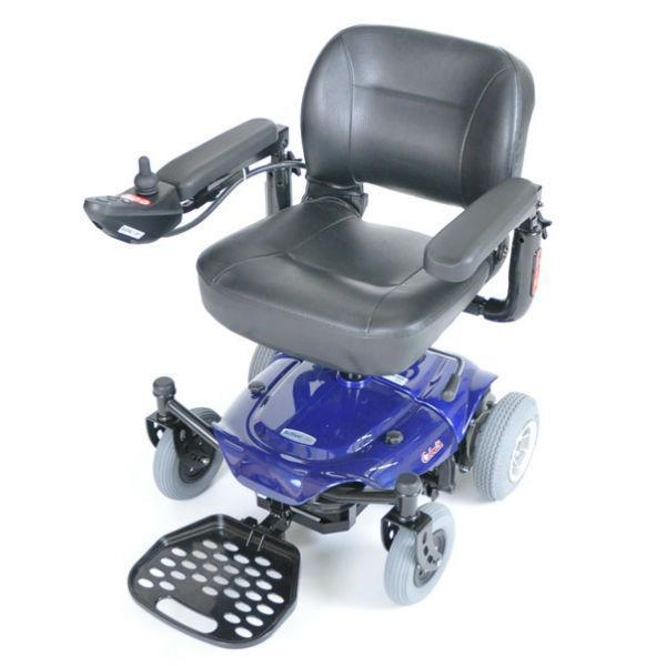 Cobalt X23 Power Wheelchair, Blue - EZMEDx Medical Supply