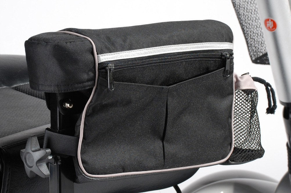Power Mobility Armrest Bag, For use with All Drive Medical Power Wheelchairs (AB1010) - EZMEDx Medical Supply