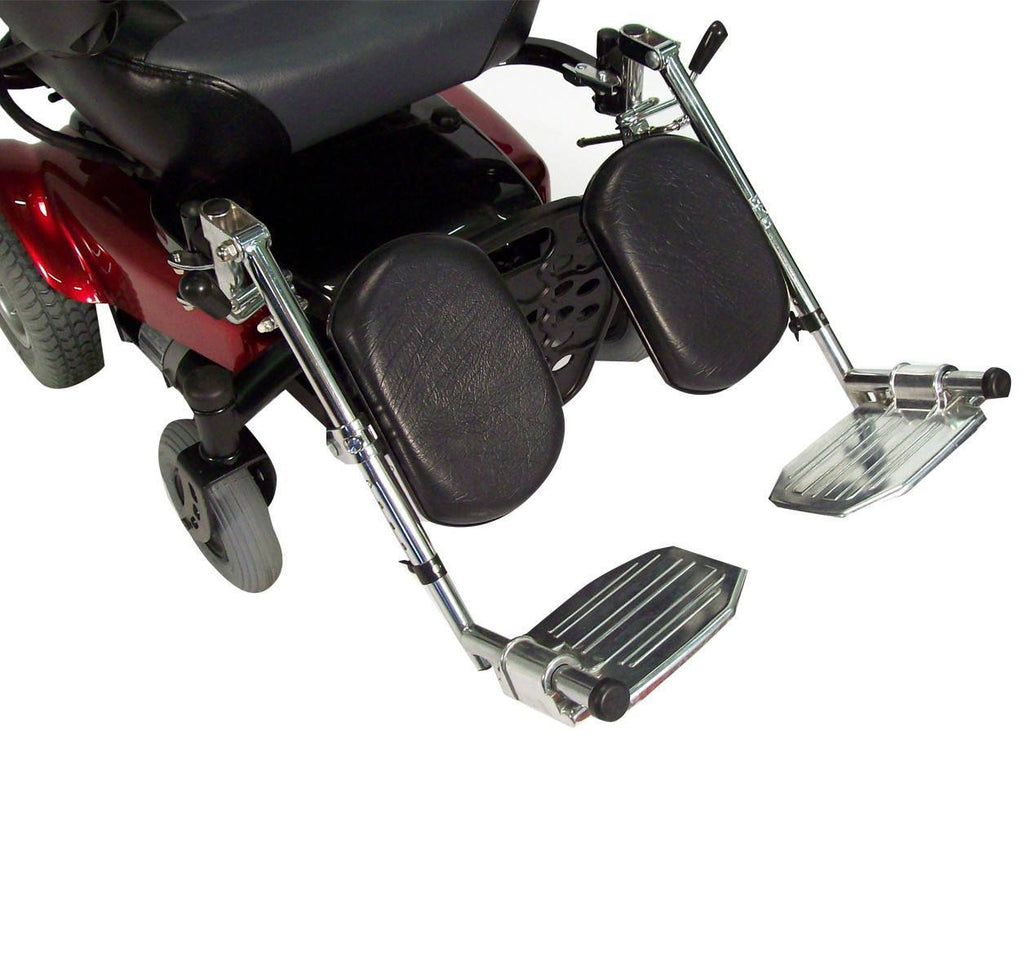 Power Mobility - Power Wheelchair Elevating Legrest Bracket With Hemi Spacing