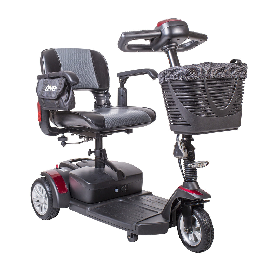 Spitfire EX Compact Travel Power Mobility Scooter, 21AH Battery, 3 Wheel - EZMEDx Medical Supply
