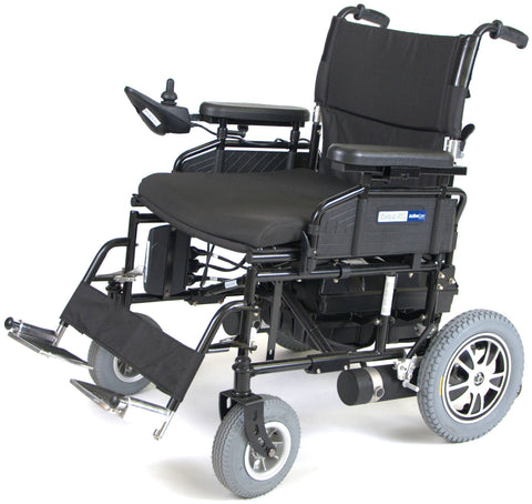 "Wildcat 450 Heavy Duty Folding Power Wheelchair, 24"" Seat - EZMEDx Medical Supply"