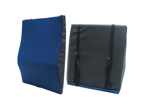 General Use Back Cushion with Lumbar Support - EZMEDx Medical Supply
