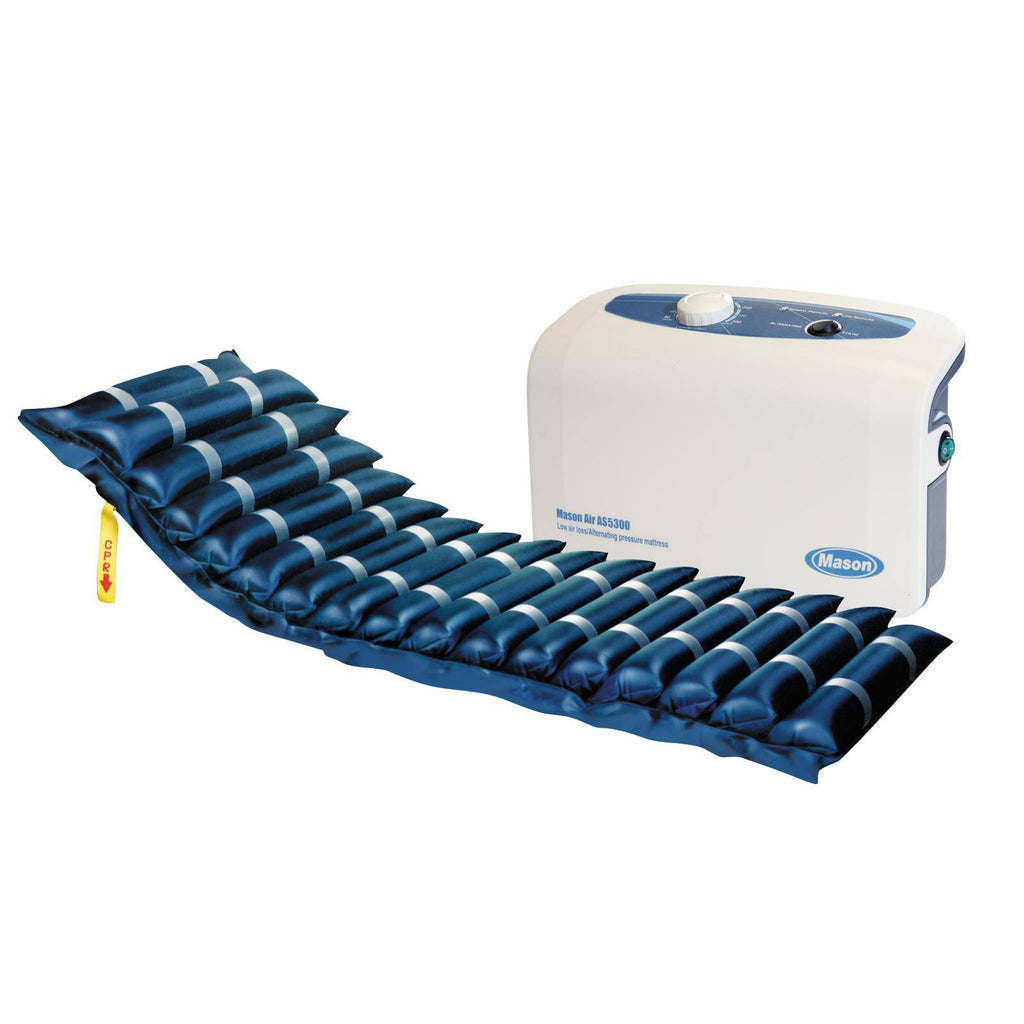 "Masonair Low Air Loss and Alternating Pressure Mattress System, 8"" - EZMEDx Medical Supply"