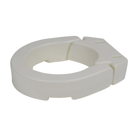 Hinged Toilet Seat Riser, Standard Seat - EZMEDx Medical Supply  - 1