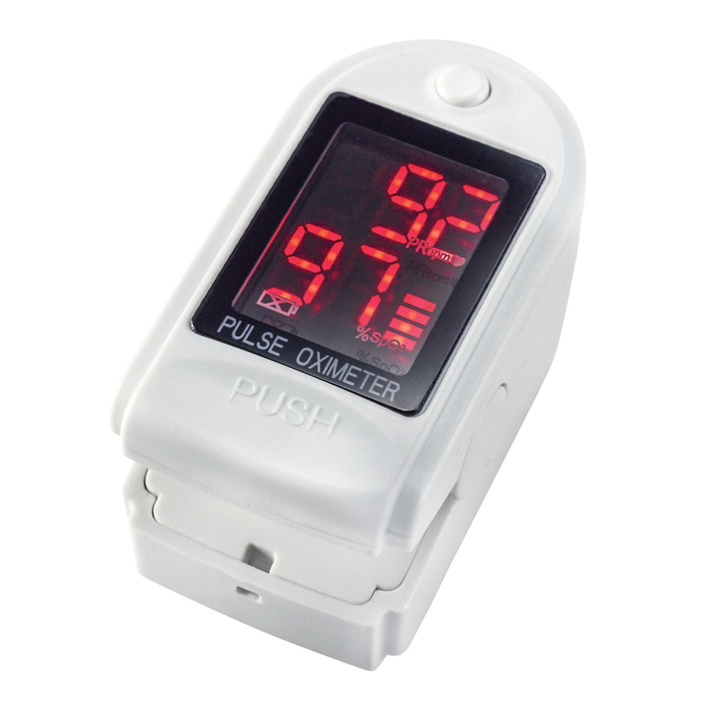 Fingertip Pulse Oximeter - EZMEDx Medical Supply