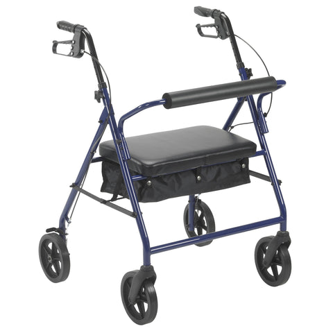 "Bariatric Rollator with 8"" Wheels - EZMEDx Medical Supply  - 1"