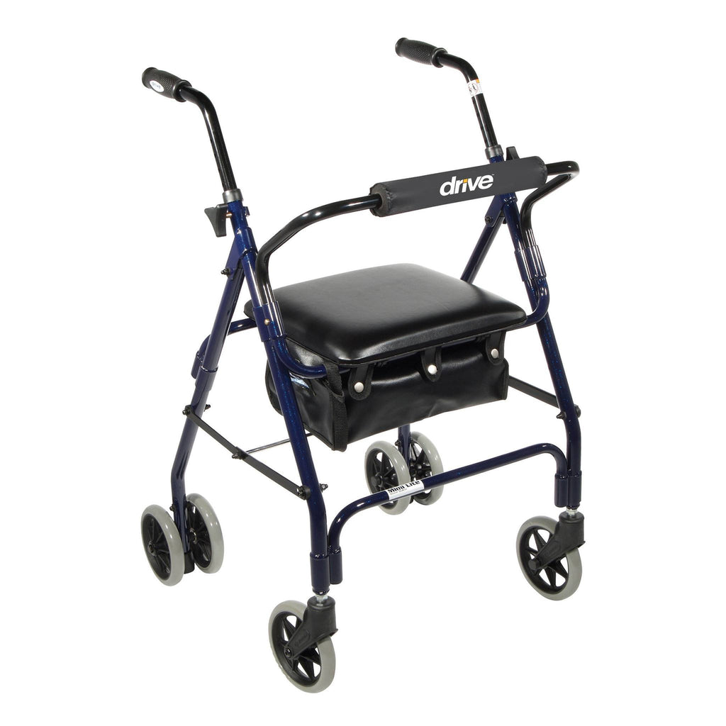 Mimi Lite Push Brake Walker Rollator - EZMEDx Medical Supply