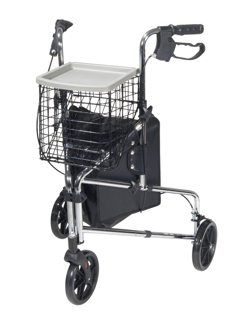 Winnie Deluxe 3 Wheel Walker Rollator - EZMEDx Medical Supply