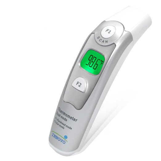 Innovo Forehead and Ear Thermometer (Dual Mode) - Newly released on Jan 2015 *CE and FDA approved* - EZMEDx Medical Supply  - 1