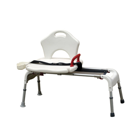 Folding Universal Sliding Transfer Bench - EZMEDx Medical Supply