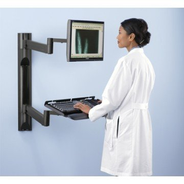 Dual Articulating IT Wall Station - EZMEDx Medical Supply