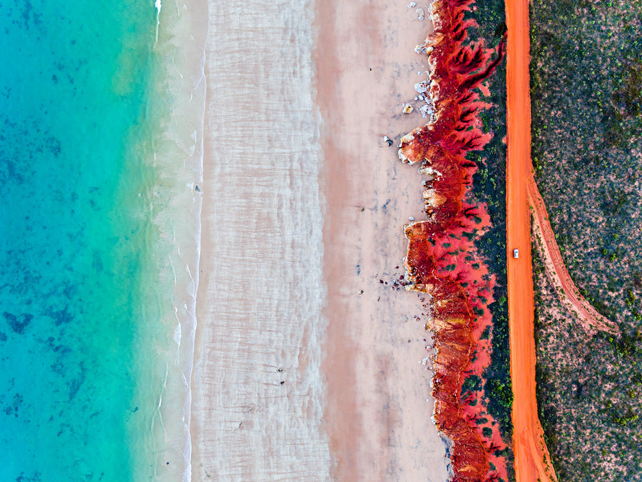 Broome Western Australia Red Pindan Blue Ocean James Price Point