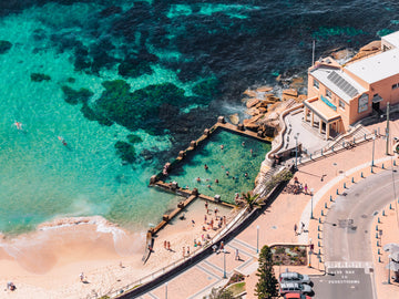Coogee Beach Sydney NSW NEW South Wales Life Saving Pool
