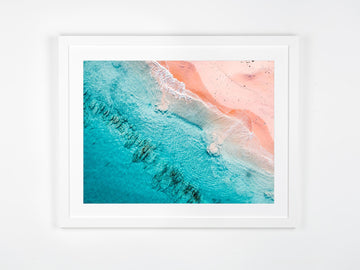 In Stock - SW1156 - Hamelin Bay - 80cm x 60cm / Fine Art Paper - Classic Frame / White / Landscape or Portrait