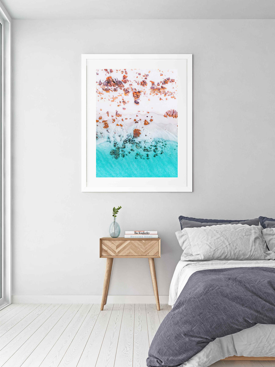 Coastal Beach Wall Art Prints. Australia Landscape Photography. Framed Photography Artwork Prints and Canvas Available.