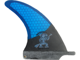 Honeycomb/Carbon fin set