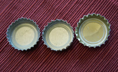 How to fix dented or bent beer caps so they fit in your beer cap map