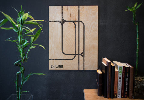Chicago City Modern Wall Art