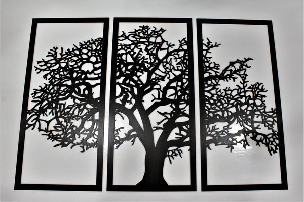 Tree of Life Wall Art-Ebony Gloss Finish