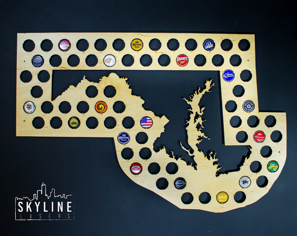 Maryland State Beer Cap