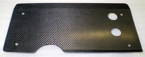 Intercooler Heat Shield Carbon Fiber