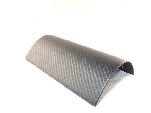 Matte Carbon Fiber Air Bag Cover