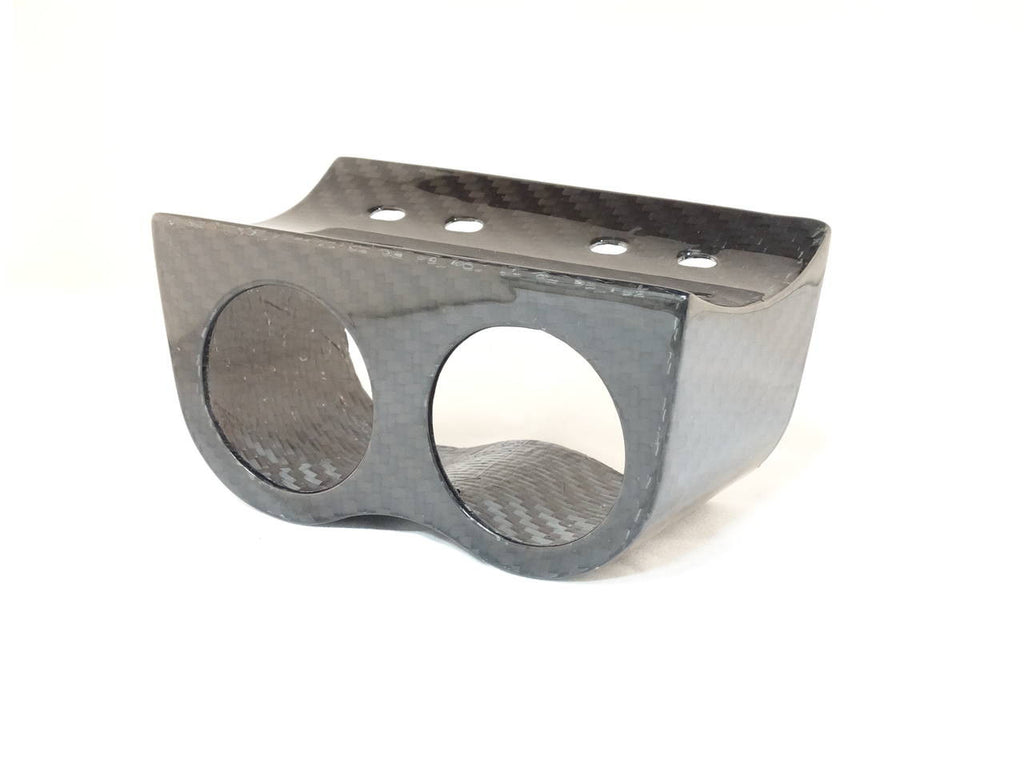 Carbon Fiber Double Gauge Pod