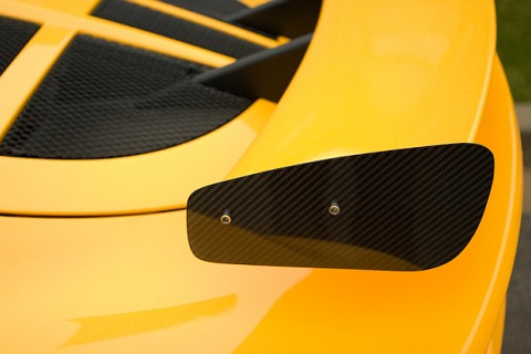 Carbon Fiber Wing End Pair
