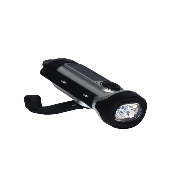 Solar Waterproof Flashlight