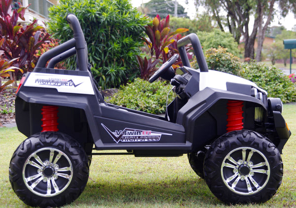 Renegade Maverick RS White 4x4 Ride on ATV